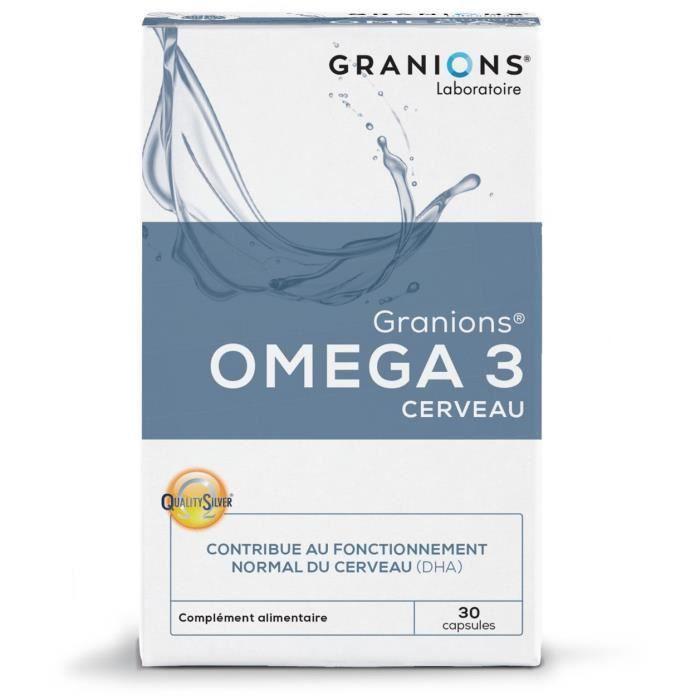 GRANIONS® OMEGA 3 CERVEAU (30 CAPSULES)