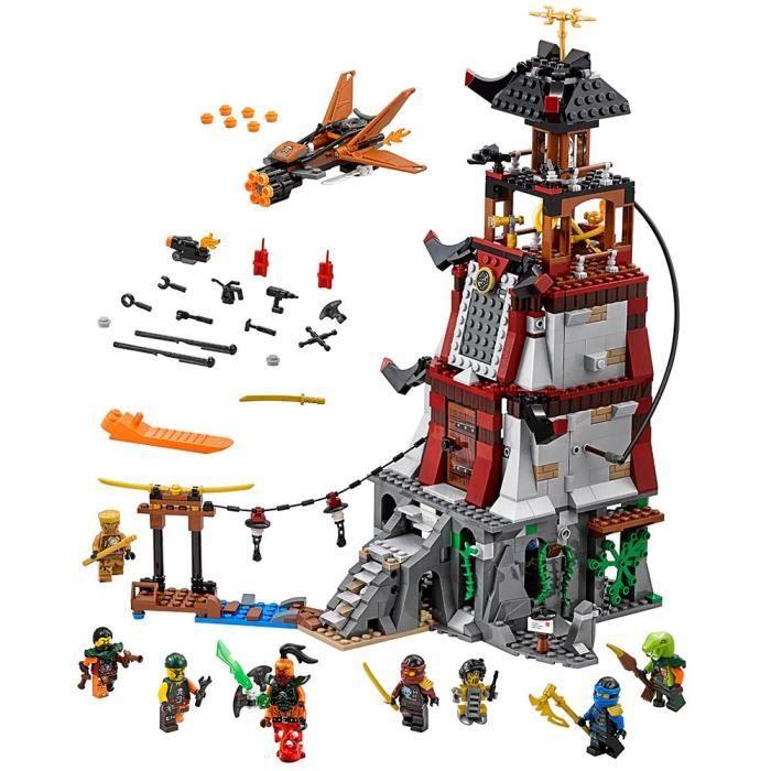 LEGO Ninjago Le phare de siège 70594 enfants Toy L4TSG