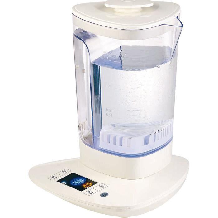 Ioniseur d'eau 1,5 L à écran LCD