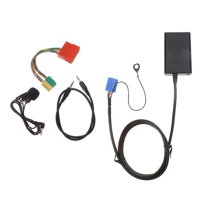Adaptateur USB Mains Libres Bluetooth pour Voiture Câble Audio de Musique pour Audi A3 8L 8P A4 B5-B7 A6 4B A8 4D
