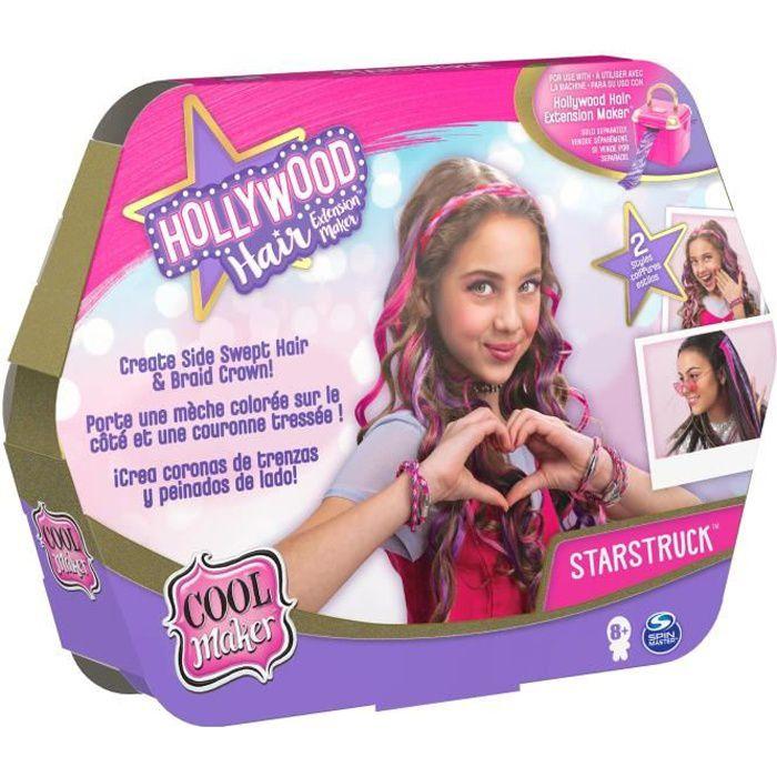 COOL MAKER - RECHARGES Hollywood Hair Studio - 6058276 - Plusieurs modèles pour créer coiffures sur cheveux - Loisirs créatifs