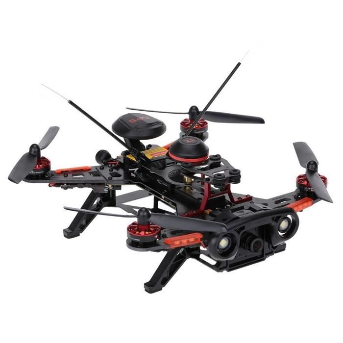 Drone rc, Walkera 2.4GHz Runner 250 Advance Télécommande avec 800TVL Caméra & GPS & OSD & DEVO F12E