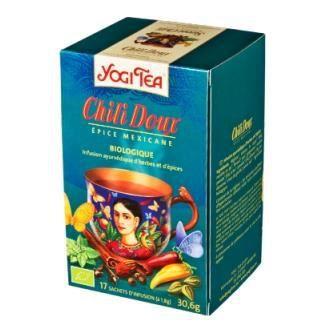 chili doux bio yogi tea