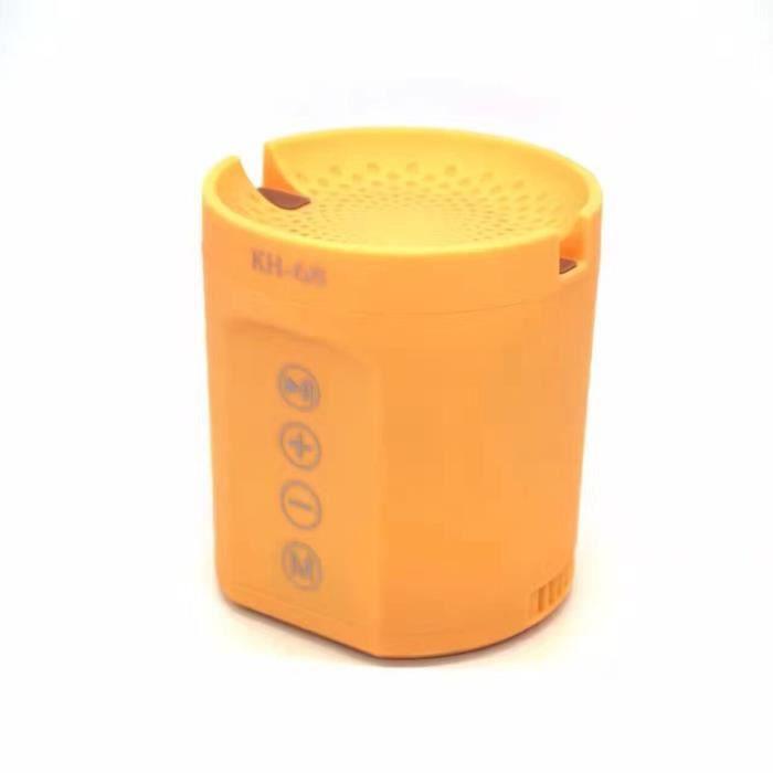 ENCEINTES JAUNE mini enceinte Bluetooth haut-parleur Stereo