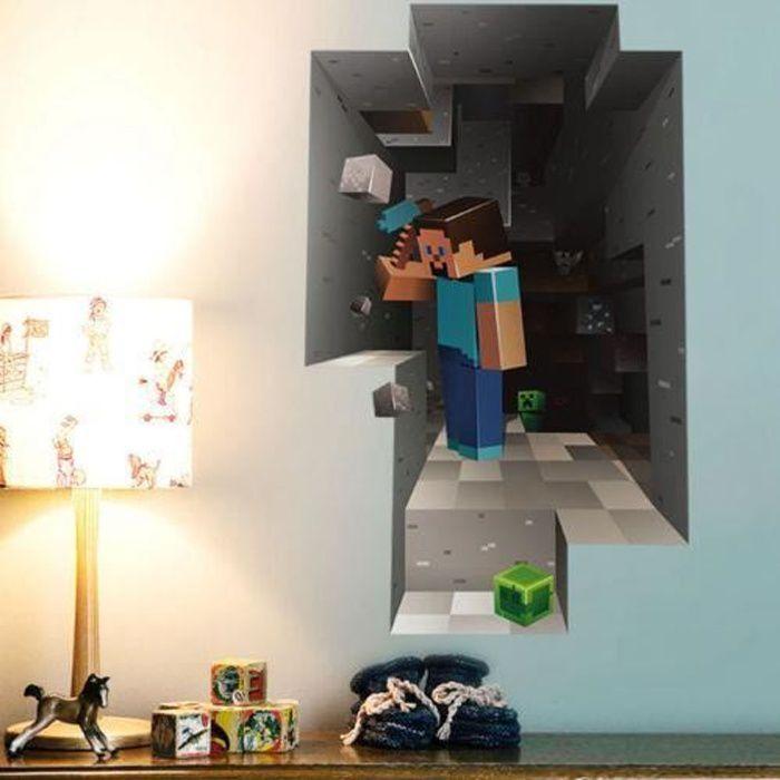 Deco Chambre Minecraft Achat Vente Pas Cher
