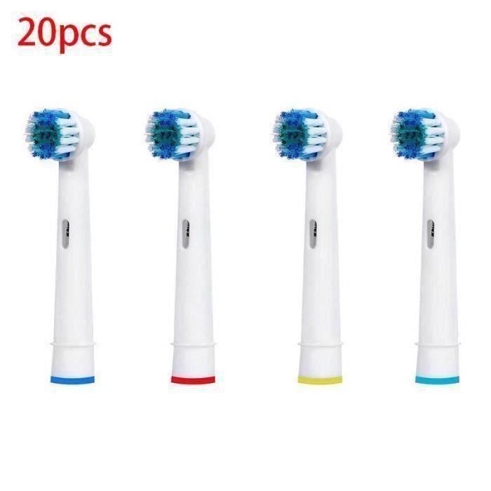 BROSSETTE 20pcs brossettes Précision Clean Oral B Générique