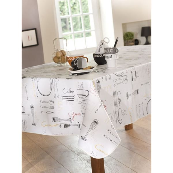 t c menu 140x200 nappe rect noir achat vente nappe de table cdiscount. Black Bedroom Furniture Sets. Home Design Ideas