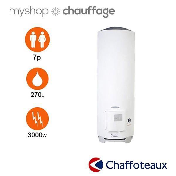 meilleur authentique 2019 professionnel acheter populaire Chauffe eau hpc 2 stable 270 litres - chaffoteaux