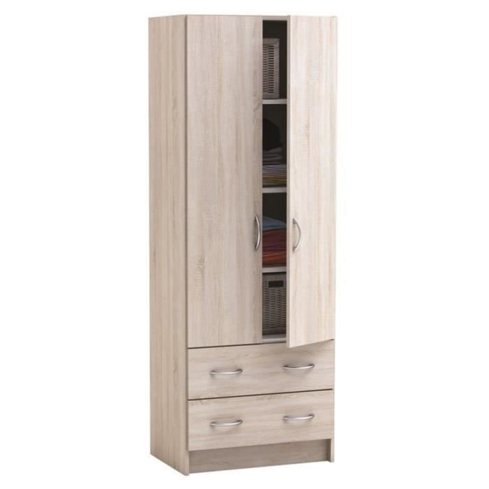 armoire largeur 60 cm trainingsstalmaikewiebelitz. Black Bedroom Furniture Sets. Home Design Ideas