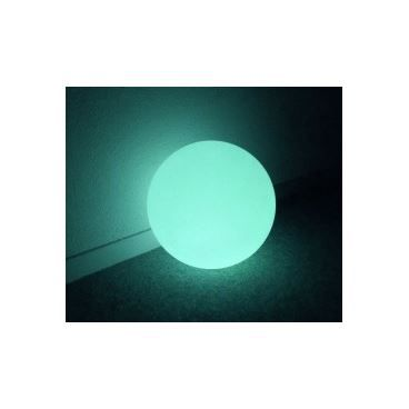 Boule piscine lumineuse led 50 cm rechargeable achat for Piscine a boule bebe