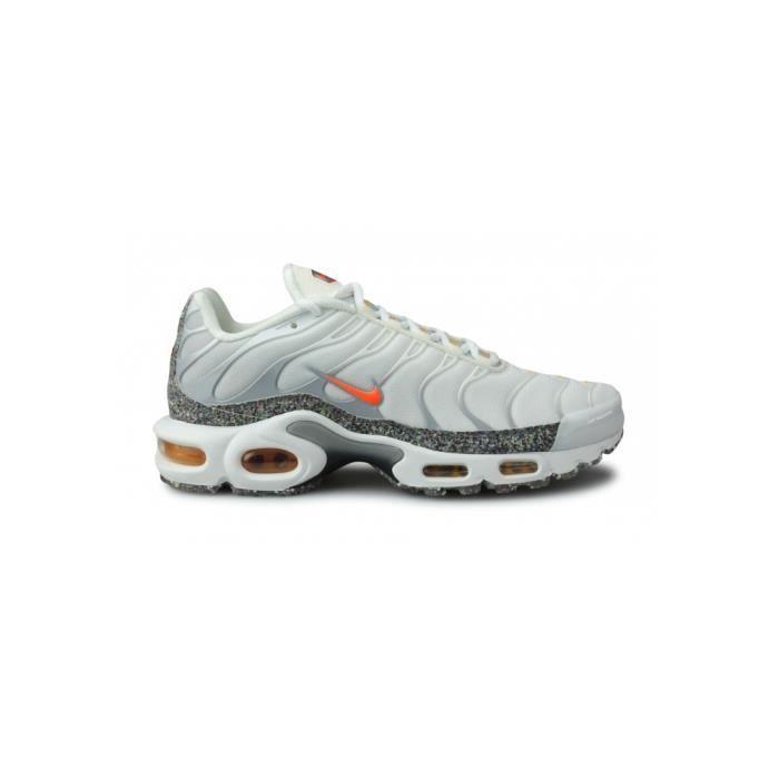 Basket Nike Air Max Plus Blanc Da1500-100 Blanc - Cdiscount Chaussures