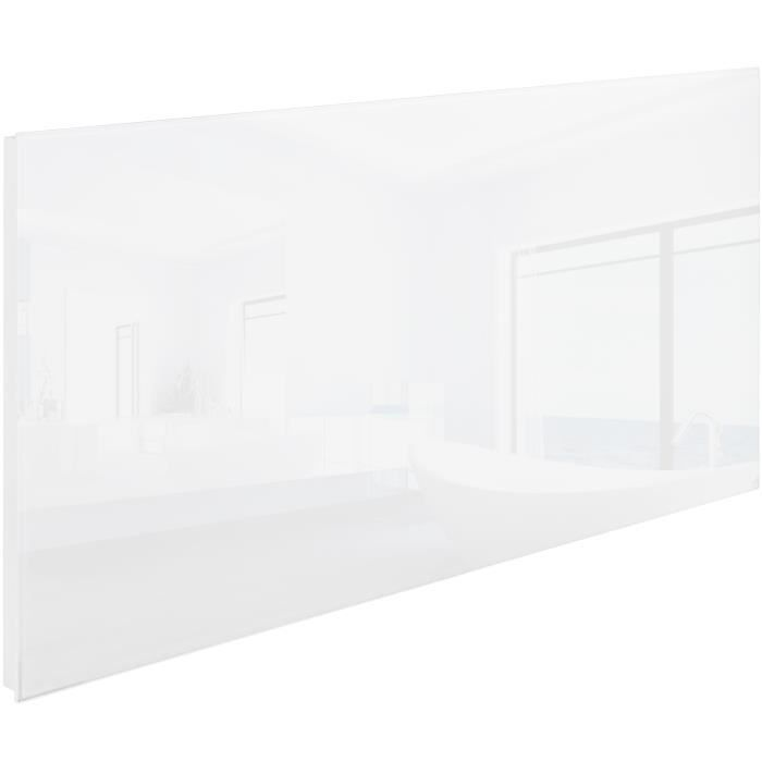 Chauffage lectrique mural rayonnant infrarouge en verre 1220 mm x 620 mm 9 - Chauffage electrique mural ...