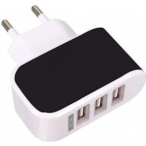 CHARGEUR TÉLÉPHONE Chargeur USB Secteur 3 Ports Universel Secteur Mur