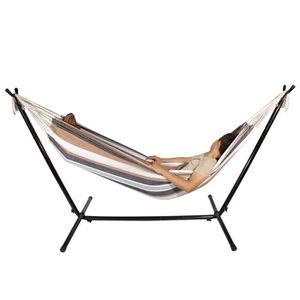 HAMAC Hamac de camping en Toile lit suspendu extérieure