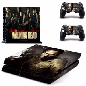 STICKER - SKIN CONSOLE Sticker-decal Autocollant Ps4 - The walking dead T