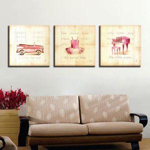 TABLEAU - TOILE xiangruifu,62618-Toile imprimer affiche 3 pièces r