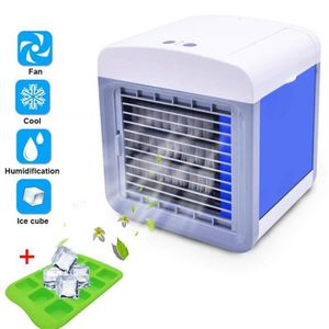 CLIMATISEUR FIXE Personal Air Cooler Mini USB Portable Climatiseur