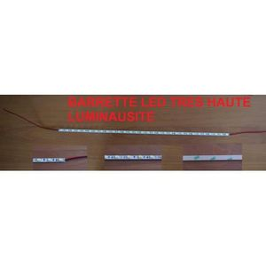 AMPOULE - LED Barrette strip de LED 56 cm ! 90 Leds Blanches 12V