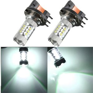 GYROPHARE TEMPSA 2x H15 Blanc LED Ampoule Voiture Lampe Halo