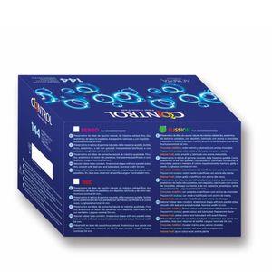 PRÉSERVATIF Préservatifs Caja Profesional Fussion 144 unités -