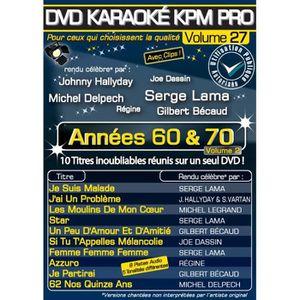DVD MUSICAL DVD Karaoké KPM Pro Vol.27