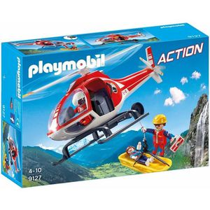 UNIVERS MINIATURE PLAYMOBIL 9127 - Action - Secouristes des Montagne