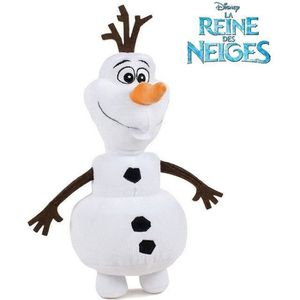 PELUCHE OMMI FROZEN REINE DES NEIGES - Peluche Olaf 33 cm