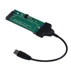 CÂBLE INFORMATIQUE CS Câble adaptateur SATA USB 3.0 ASUS UX21 UX31 EP