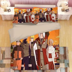 PARURE DE DRAP Naruto Parure de lit 4 pièces de Marque -1 Housse