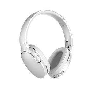 CASQUE - ÉCOUTEURS Baseus Bluetooth casque pliable sans fil casque Po