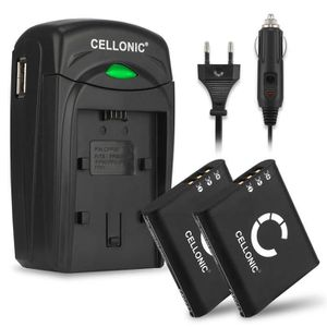 BATTERIE APPAREIL PHOTO CELLONIC 2X Batterie Compatible avec Olympus Stylu