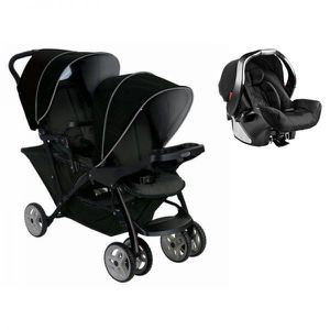 POUSSETTE  Poussette double évolutive Graco Stadium Duo Black