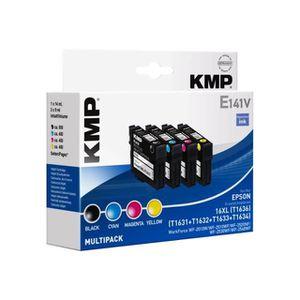 CARTOUCHE IMPRIMANTE KMP MULTIPACK E141V Pack de 4 noir, jaune, cyan, m