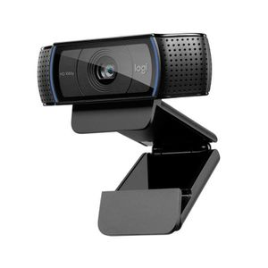 WEBCAM TV Logitech HD Pro C920 Webcam Full HD 1080p avec mic