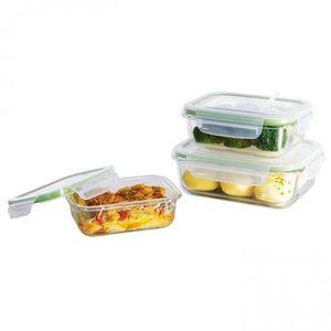 BOITES DE CONSERVATION GOURMETmaxx conteneurs de stockage des aliments en