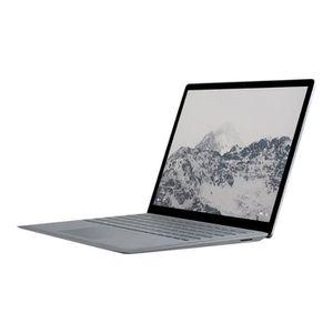 """Achat PC Portable Microsoft Surface Laptop Core i7 7660U - 2.5 GHz Windows 10 S 16 Go RAM 512 Go SSD 13.5"""" écran tactile 2256 x 1504 Iris Pl-DAM-00005 pas cher"""