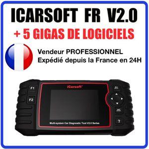 OUTIL DE DIAGNOSTIC Valise Diagnostic Auto Pro iCarsoft FR V2.0 Spécia