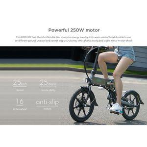 VÉLO ASSISTANCE ÉLEC Vélo Electrique Pliant FIIDO E-Scooter 250 W 25 km
