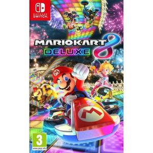 JEU NINTENDO SWITCH Mario Kart 8 Deluxe - Jeu Nintendo Switch