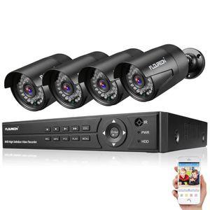 CAMÉRA DE SURVEILLANCE Kit Caméra de Sécurité-Kit Caméra de Surveillance-