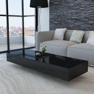 TABLE BASSE Table basse de salon scandinave 115 x 55 x 31 cm S