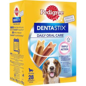 FRIANDISE PEDIGREE Dentastix Bâtonnets - Pour moyens chiens