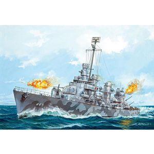 MAQUETTE DE BATEAU Maquette bateau : U.S.S.Fletcher (DD-445)