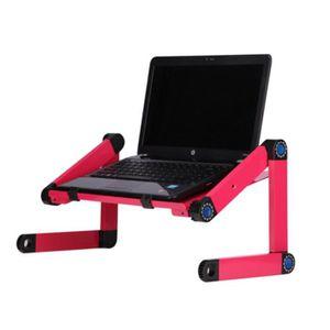 SUPPORT PC ET TABLETTE Table de bureau pliable Support de souris de lit d