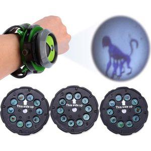 MONTRE Créatif Montre Bracelet avec Projecteur image inté