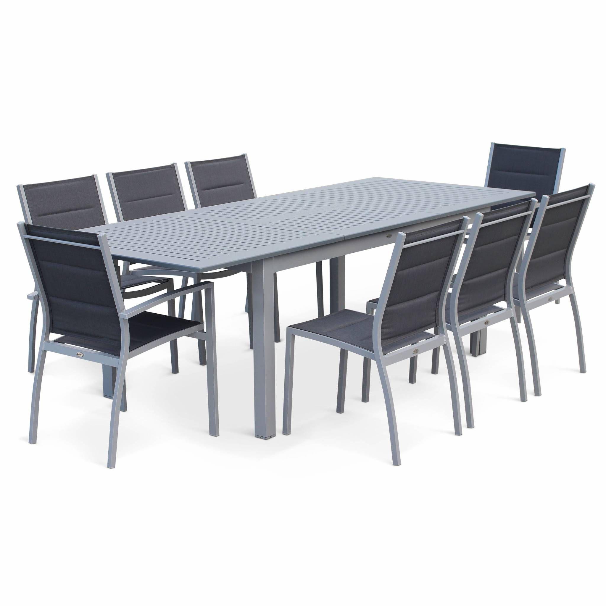 Salon de jardin en aluminium