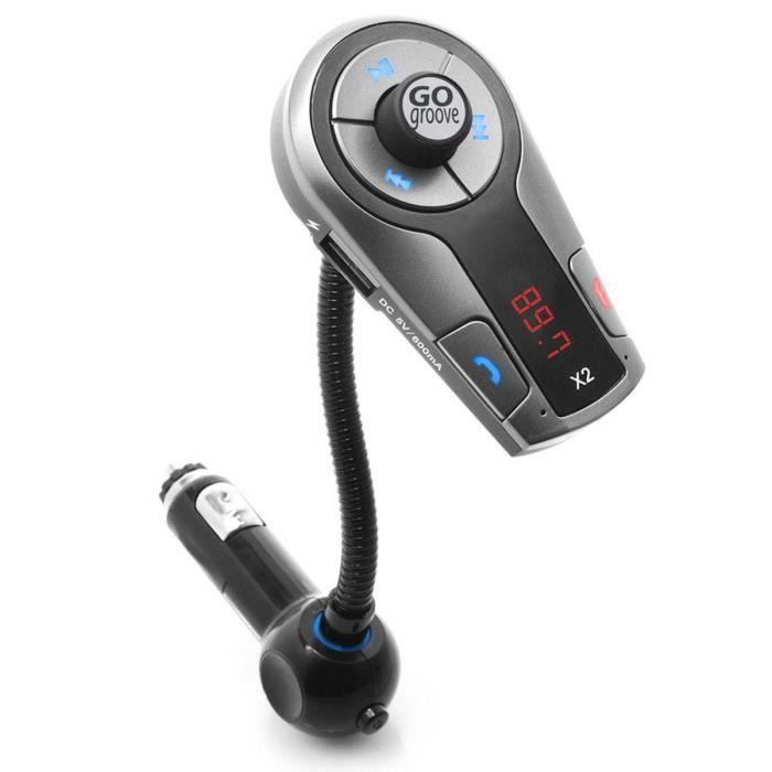 Transmetteur FM Bluetooth / Chargeur Voiture