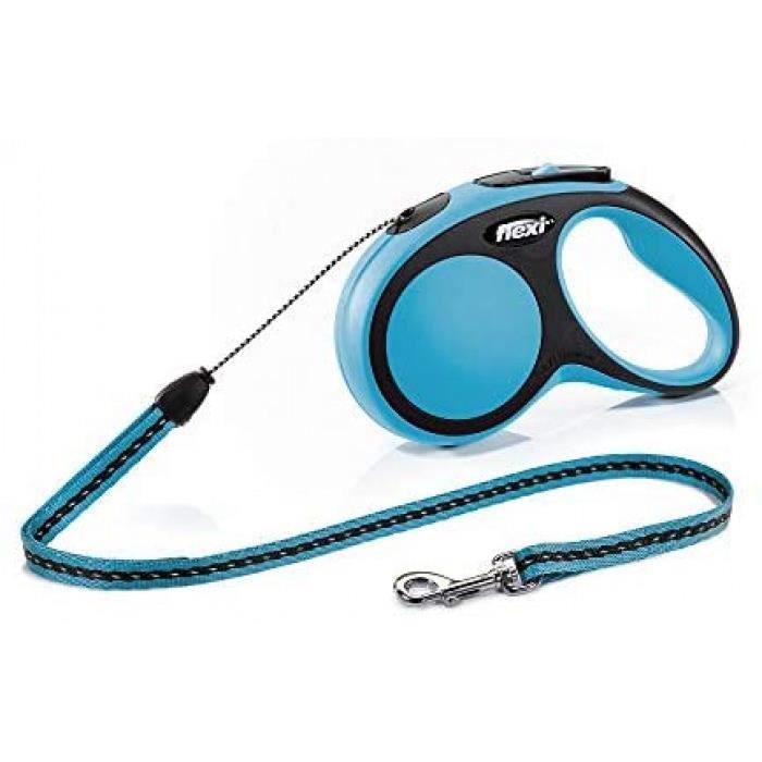 Version: Bleu Flexi Cr04098az New Confort Laisse Pour Chien Bleu Taille S