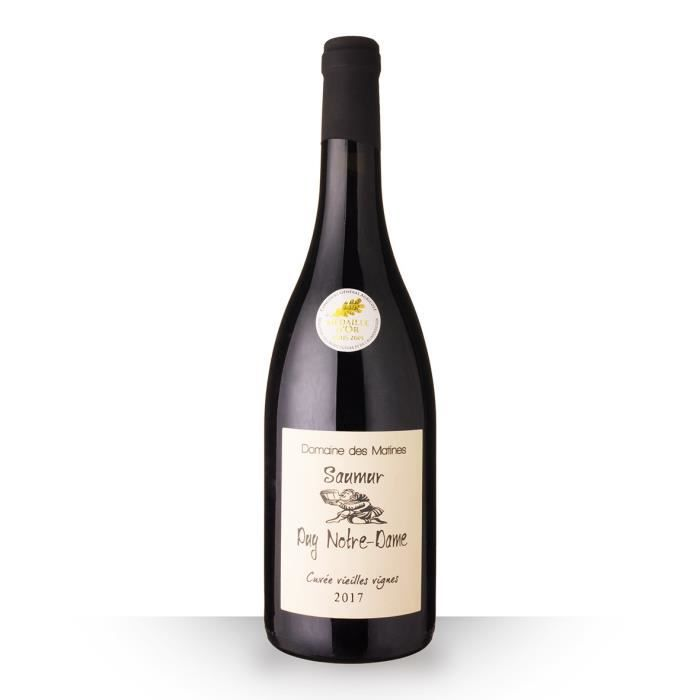 Domaine des Matines Vieilles Vignes 2017 AOC Saumur Puy Notre-Dame - 75cl - Vin Rouge