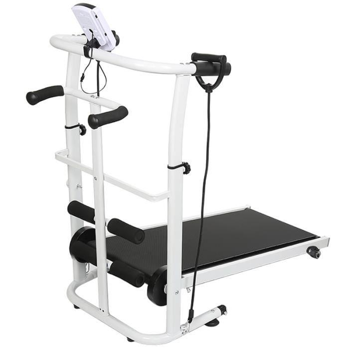 3 en 1 Multi-Tapis roulant Tapis de course Fitness équipement ménage avec LCD